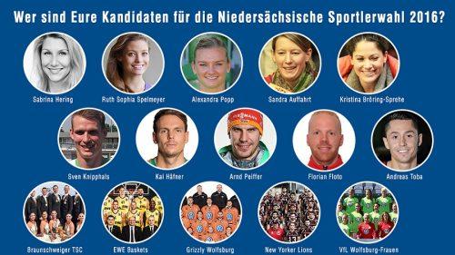 2016 Kandidaten Nds Sportlerwahlen